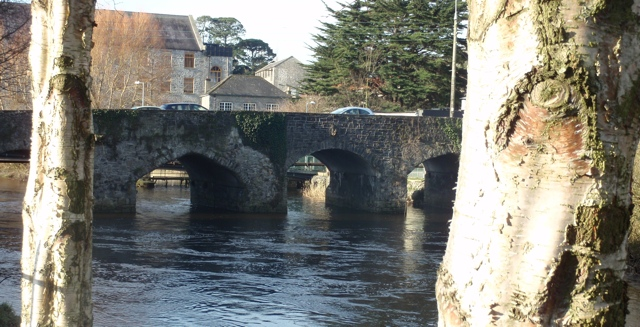 Celbridge Bridge over Liffey